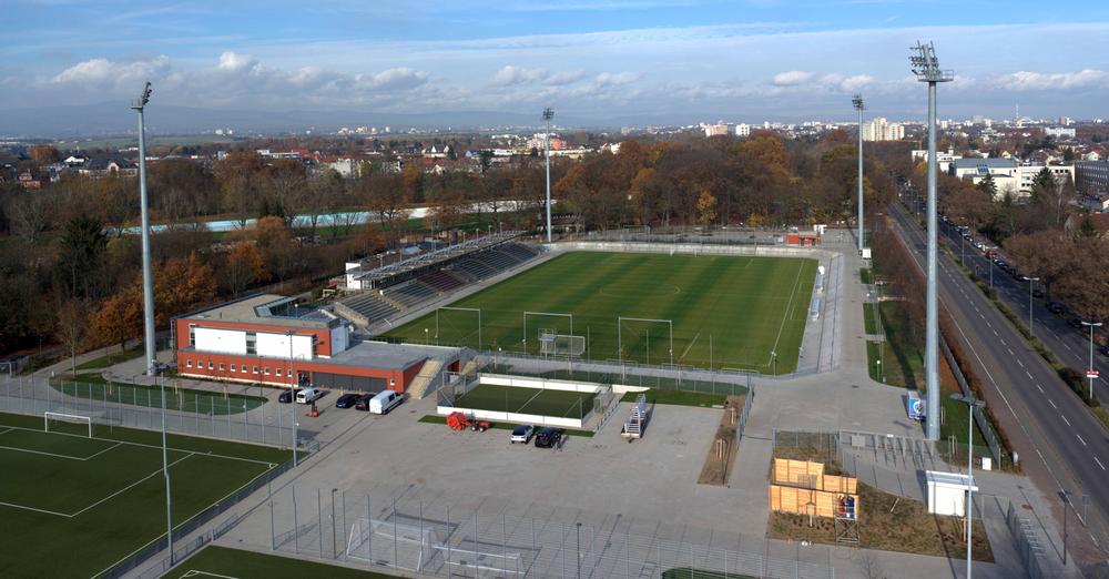 Parkplatz Stadion Frankfurt